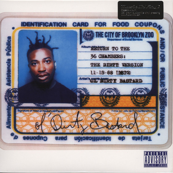 Album cover art for Return to the 36 Chambers: The Dirty Version by Ol' Dirty Bastard