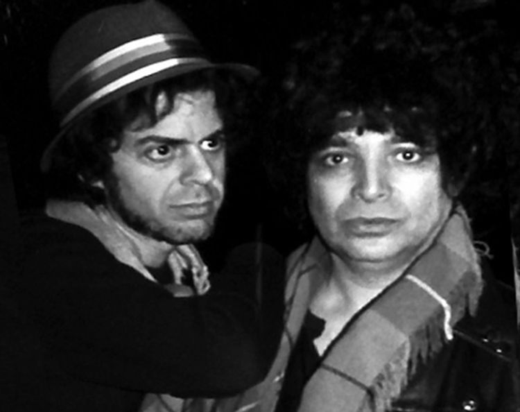 Suicide's Alan Vega and Martin Vega