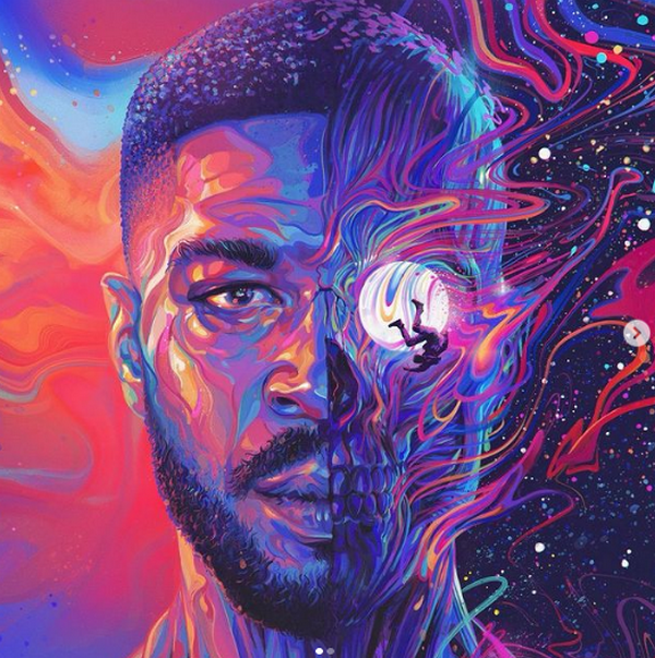 Album art for Man On the Moon III: The Chosen by Kid Cudi