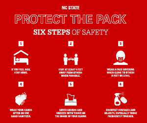 Protect the Pack with six steps of safety