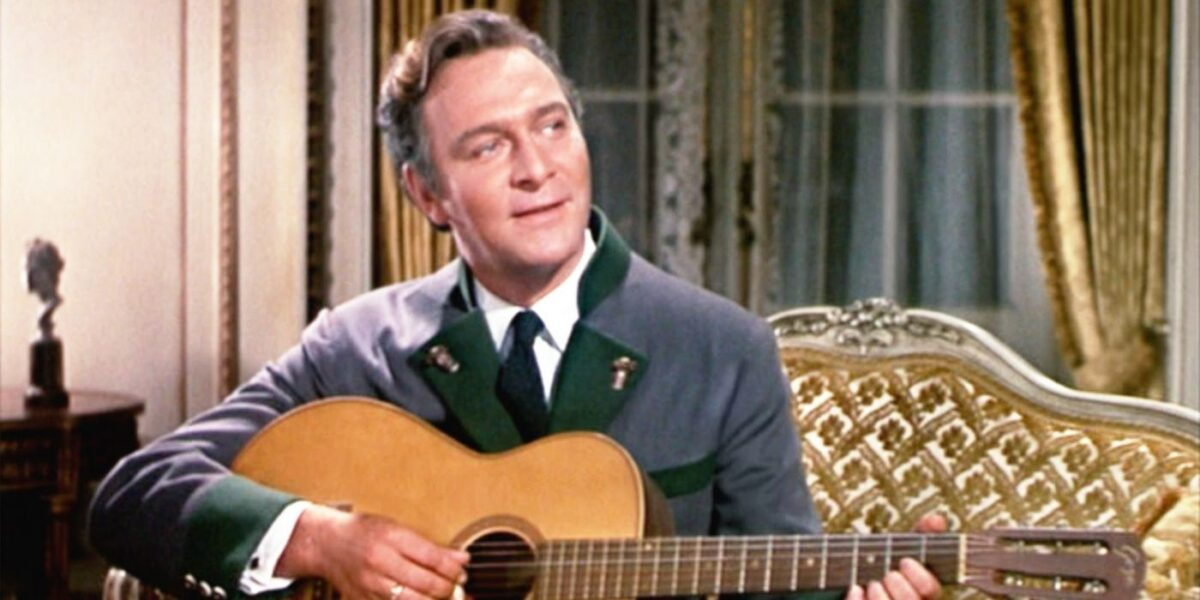 Christopher Plummer in The Sound of Music
