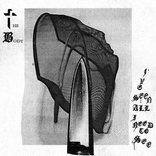 An album cover featuring macabre imagery