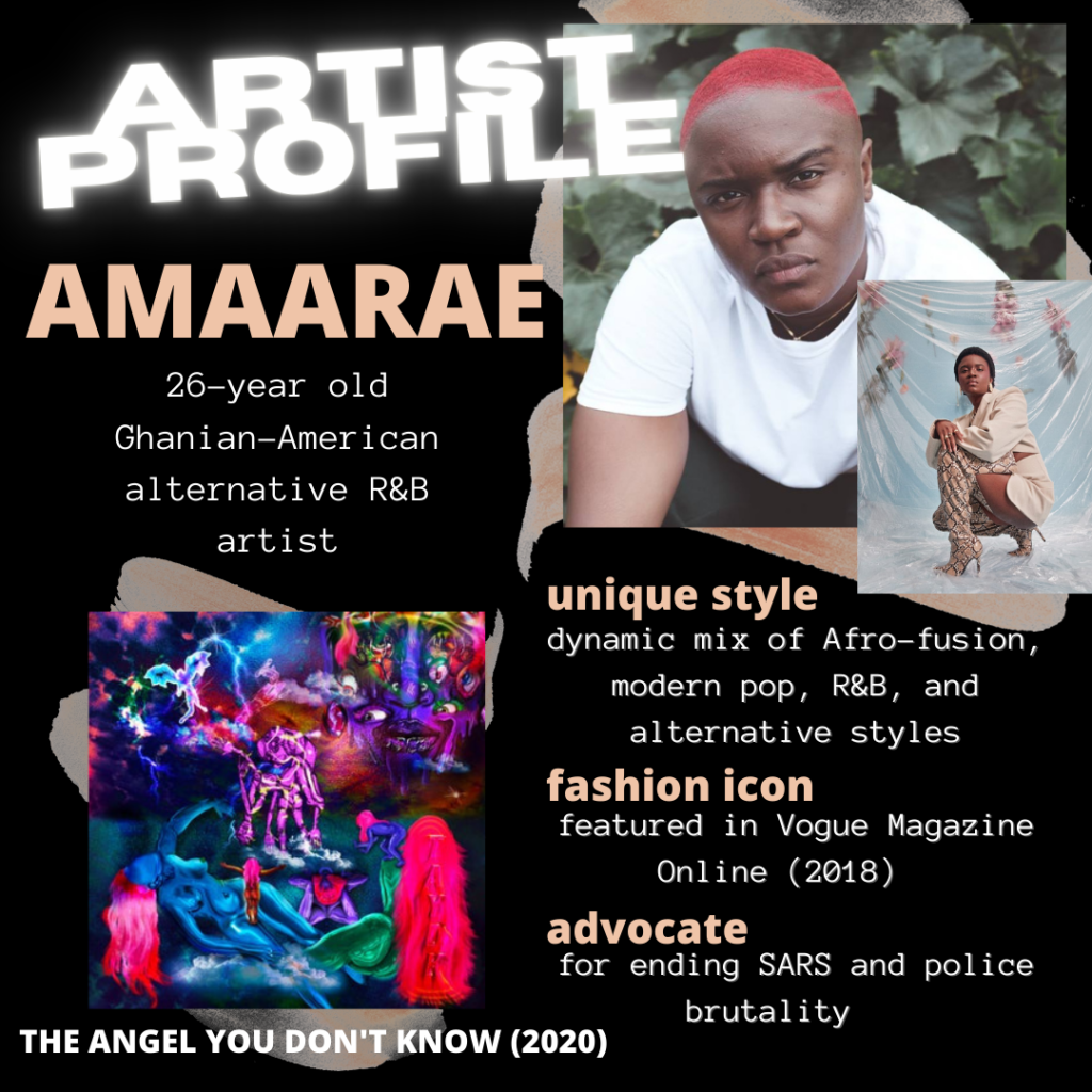 Description of Amaarae