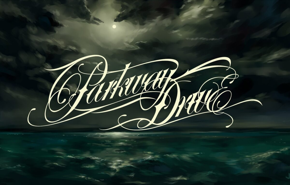 Parkway Drive logo.