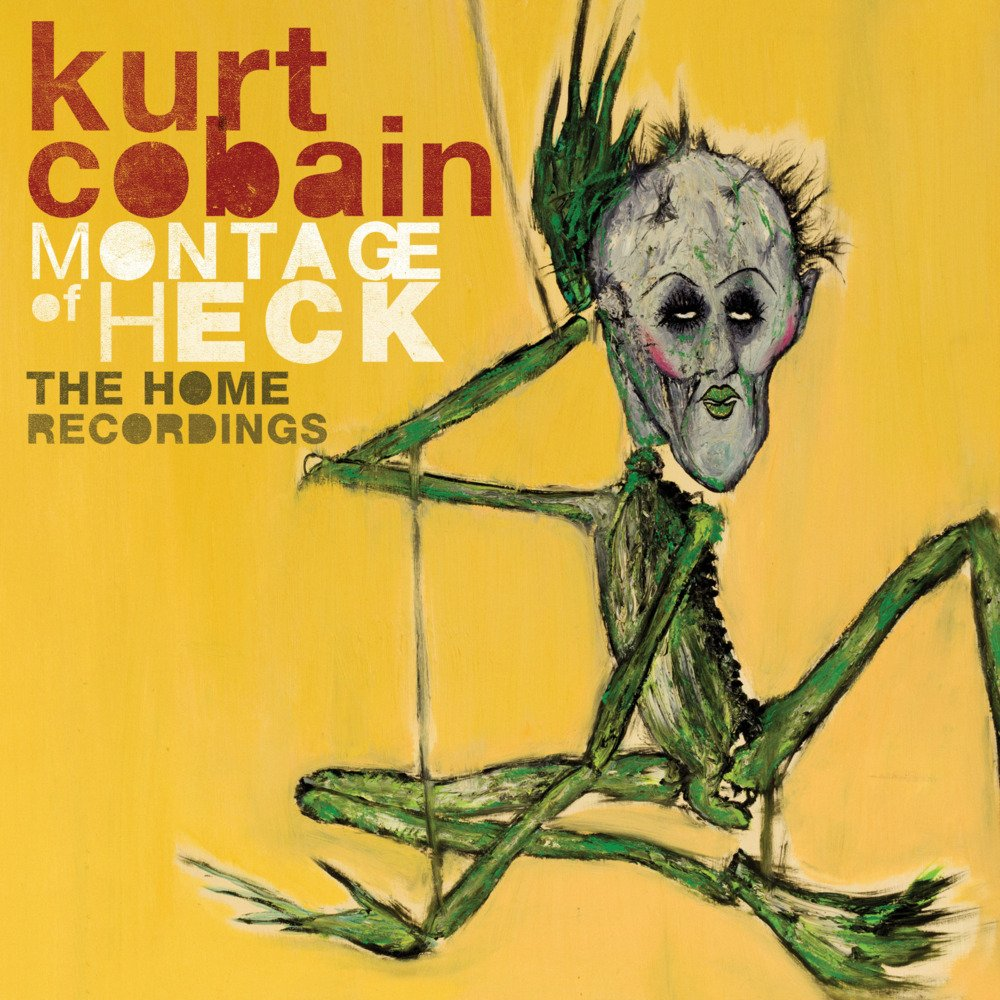 """Kurt Cobain's """"Montage of Heck: The Home Recordings"""" Album Cover"""