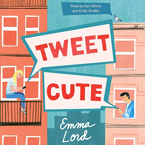 book cover of tweet cute by Emma Lord