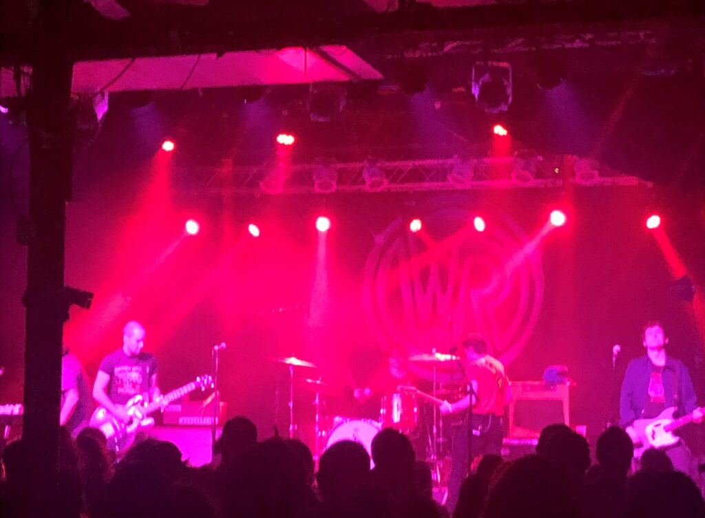 White Reaper onstage at Cat's Cradle