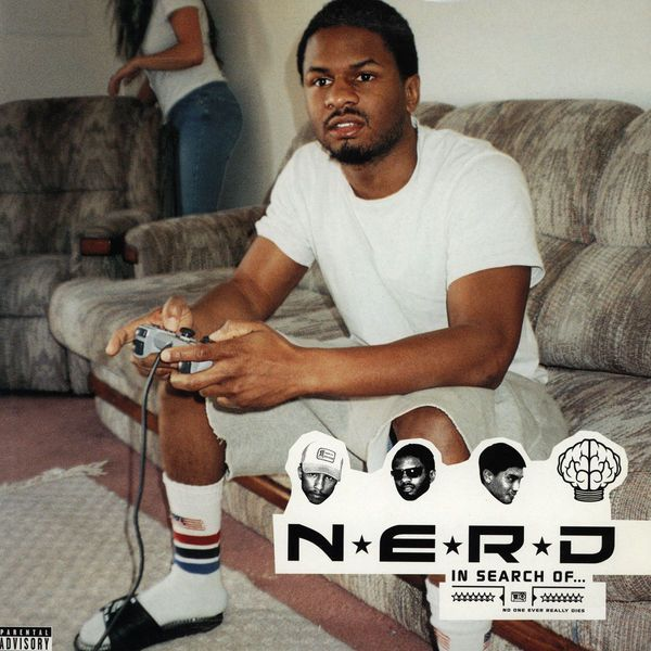"""N.E.R.D Album Cover for """"In Search of..."""""""