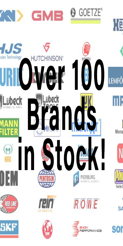 Brands in stock