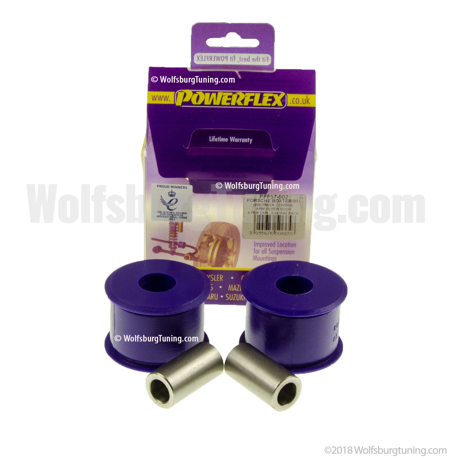 Control Arm Bushing - Outter (urethane)