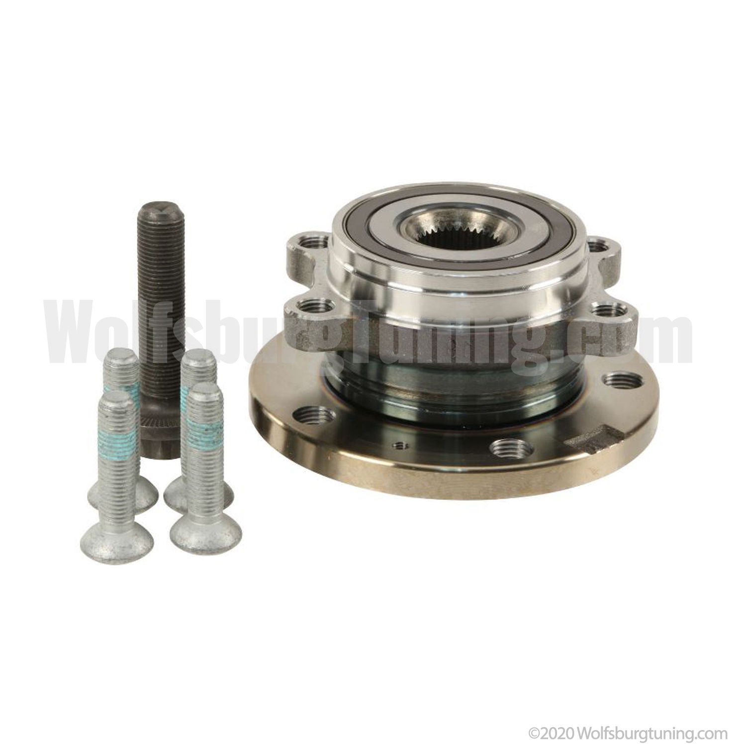 Wheel Bearing Hub Assembly - Front