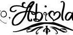 Abiola's Signature