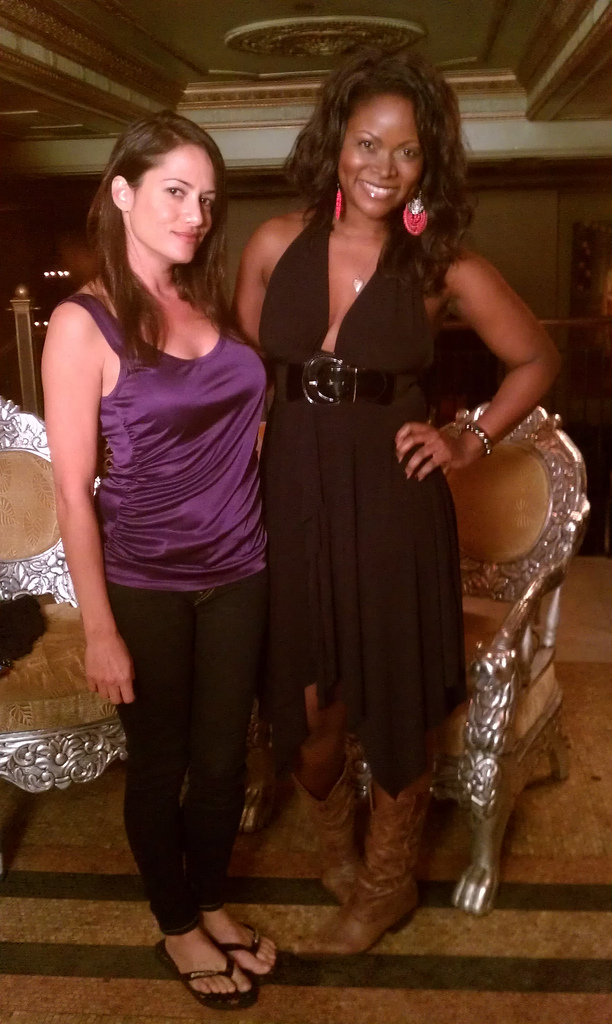 Anna David and Abiola Abrams - Authors and Lifestyle Journalists