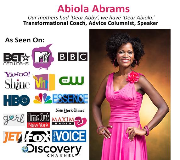 Abiola Abrams, Empowerment Speaker