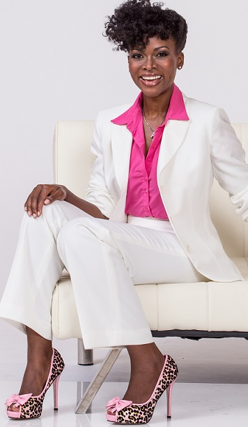 Abiola Abrams - Love Empowerment Esteem Author Coach