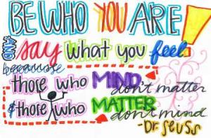 Dr. Seuss --  Inspiration