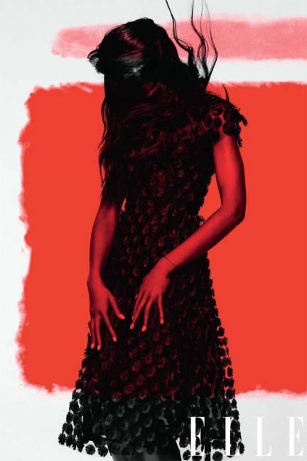 Naomi Campbell Elle Magazine
