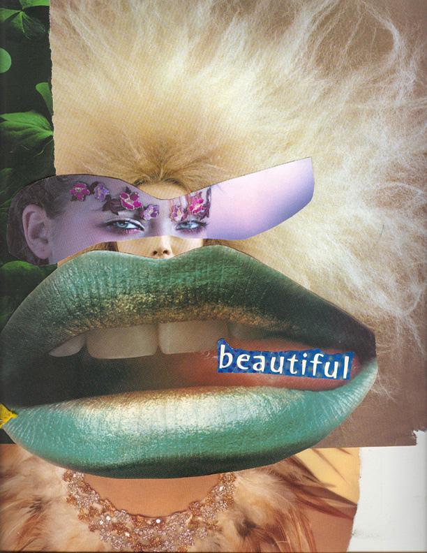 beautiful collage art by damali abrams
