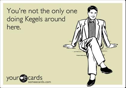 kegels for men too