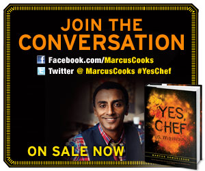 Chef Marcus Samuelsson's New Book, 'Yes, Chef'