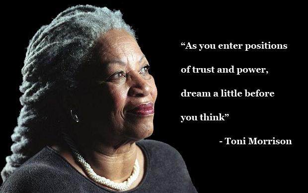 Toni Morrison Quote Dream