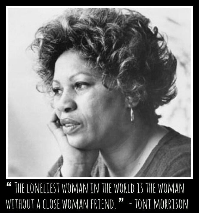 Toni Morrison Quote woman