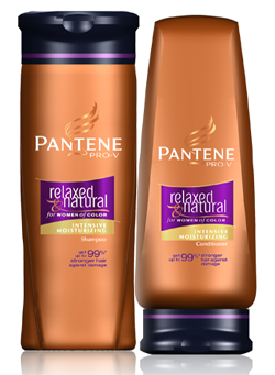pantene relaxed and natural
