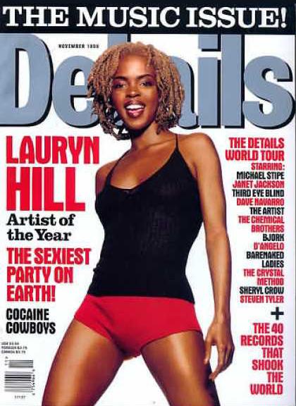 Lauryn Hill, Details Magazine