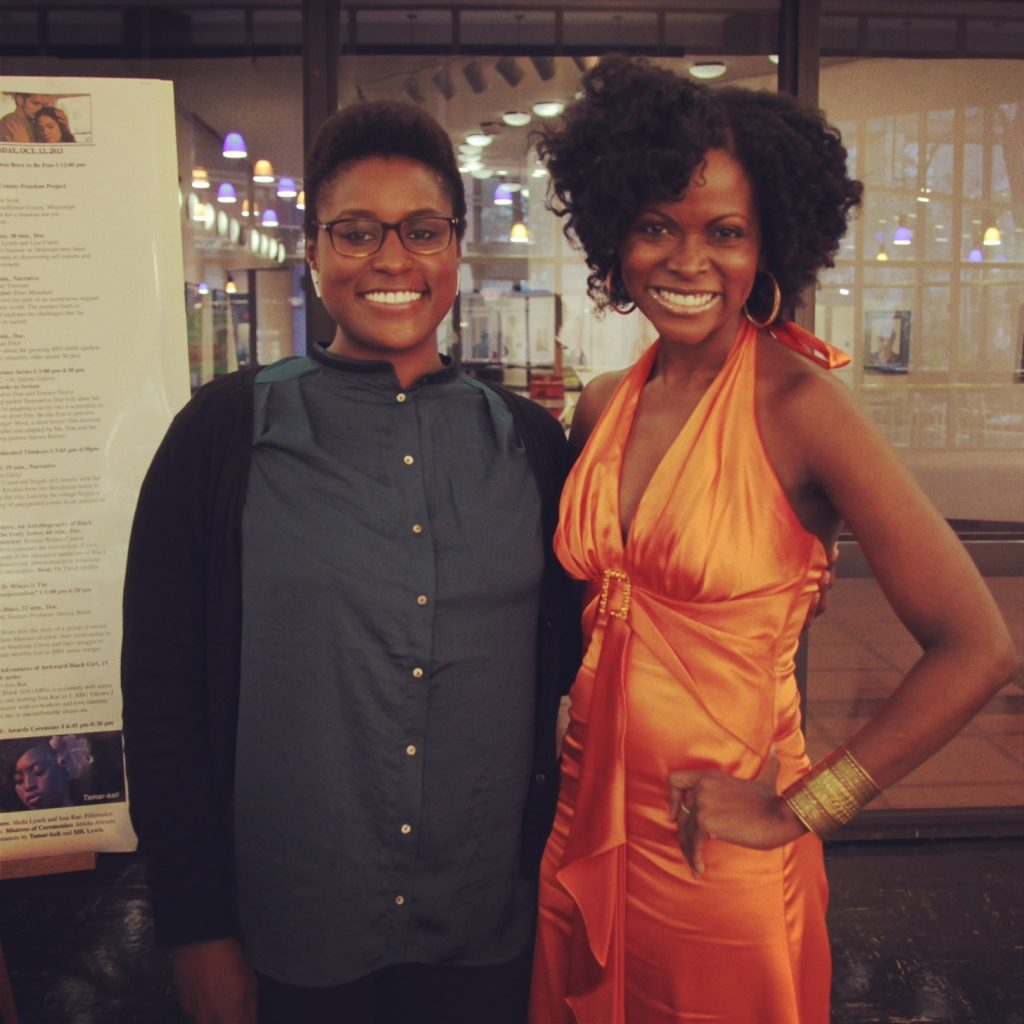 Issa Rae and Abiola Abrams - Awkward Black Girl