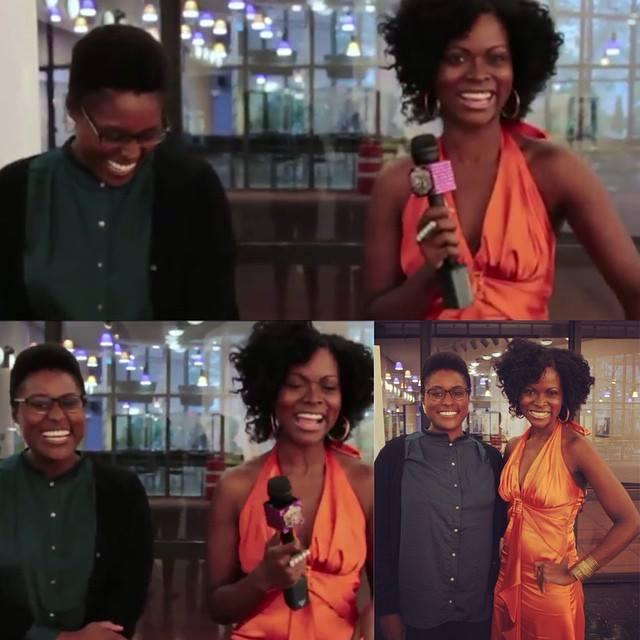 Issa Rae and Abiola Abrams