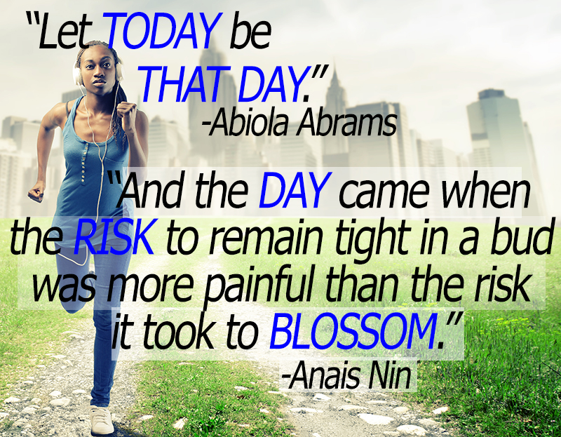 And the day came