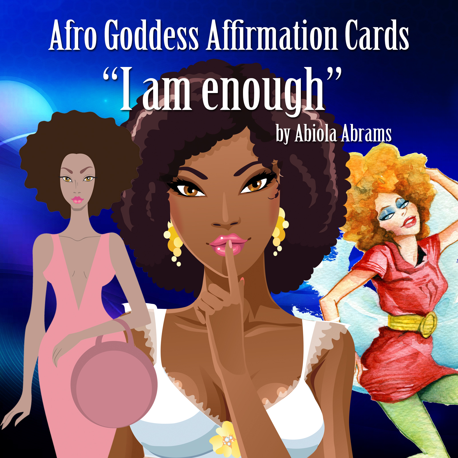 Afro Goddesses - African American Art and Lessons