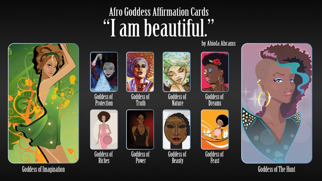 Goddess Affirmations and Lessons