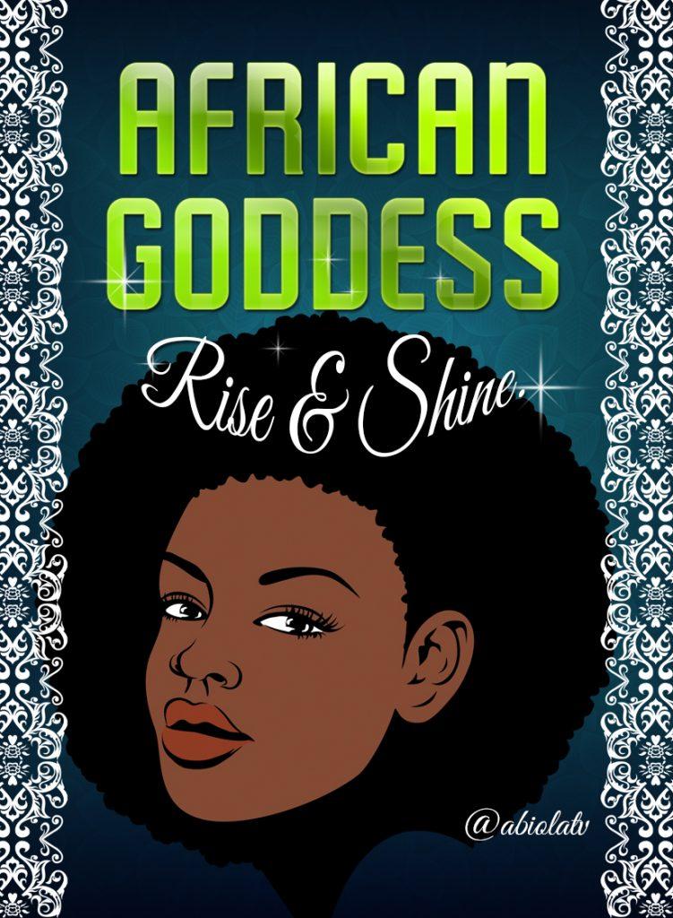 African Goddess Cards