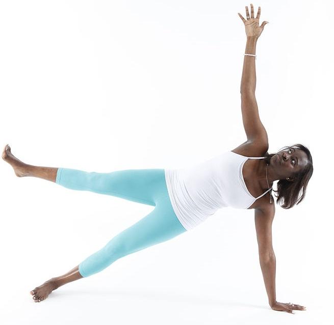 African American Yogini
