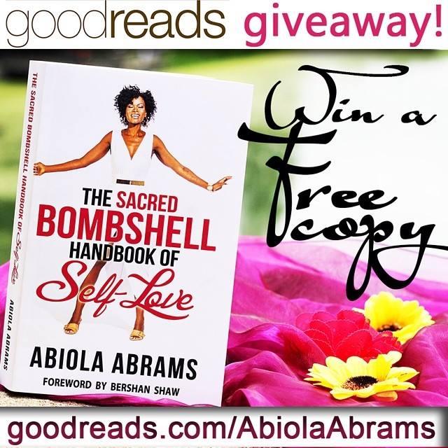 Goodreads Giveaway : Sacred Bombshell Handbook Abiola Abrams