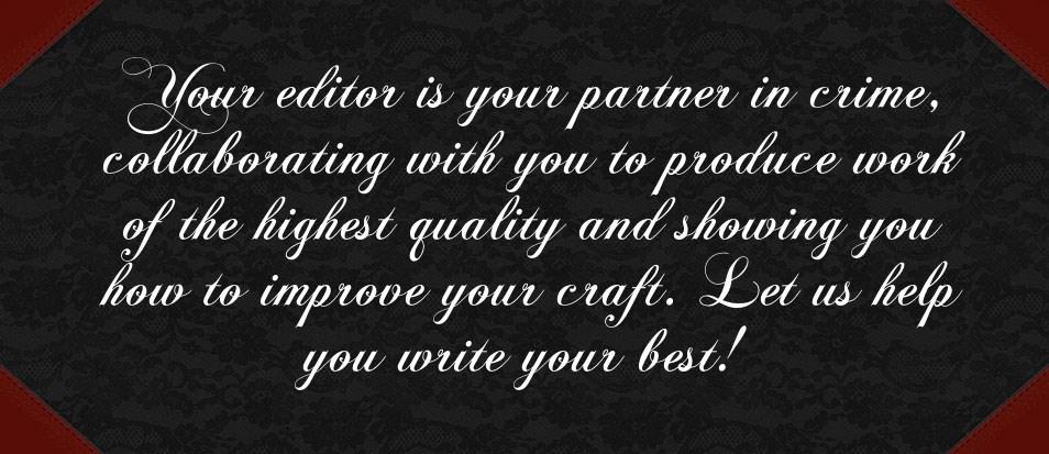 editor advice