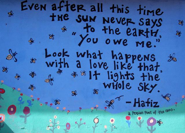Hafiz Poem