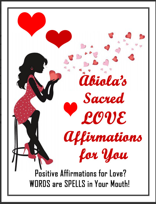 Love Affirmations Book