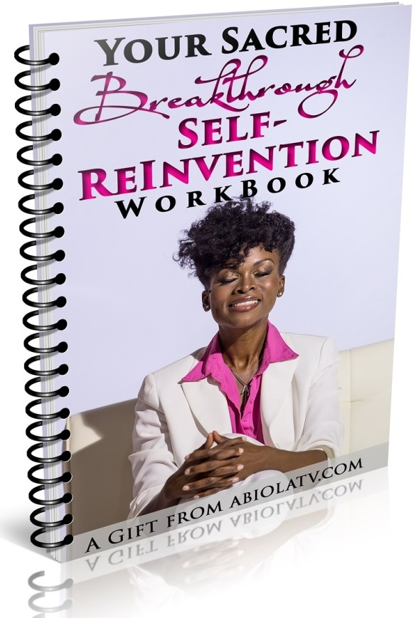 Sacred Breakthrough Workbook - Step Into Your Greatness!