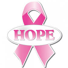 pink ribbon for hope