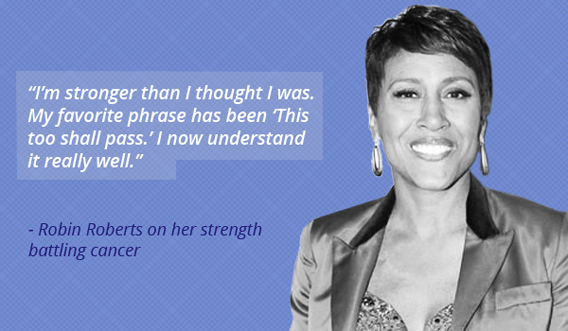 robin roberts on breast cancer