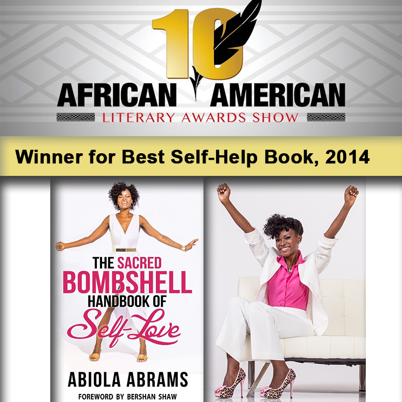 The Sacred Bombshell Handbook of Self-Love Wins Best Self-Help Book!