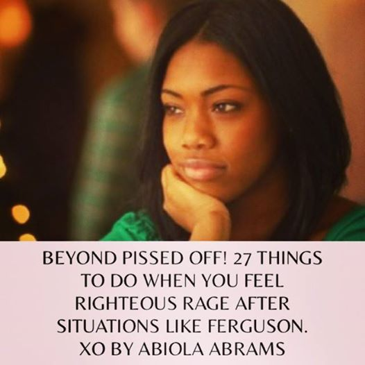anger after ferguson