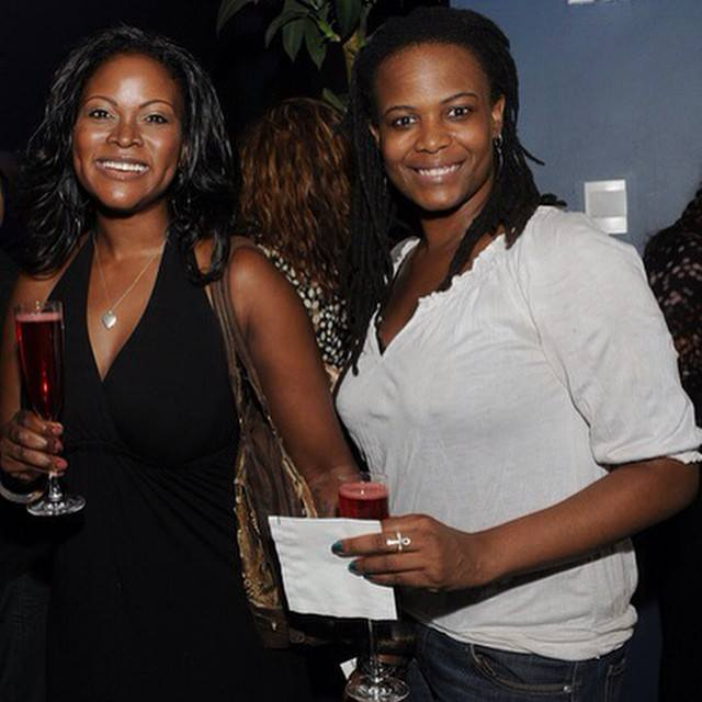 Abiola Abrams and Kristal Mosley
