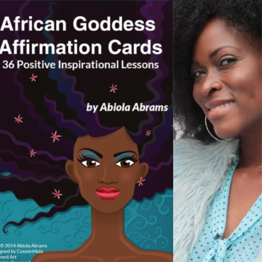 Abiola's African Goddess Affirmation Cards