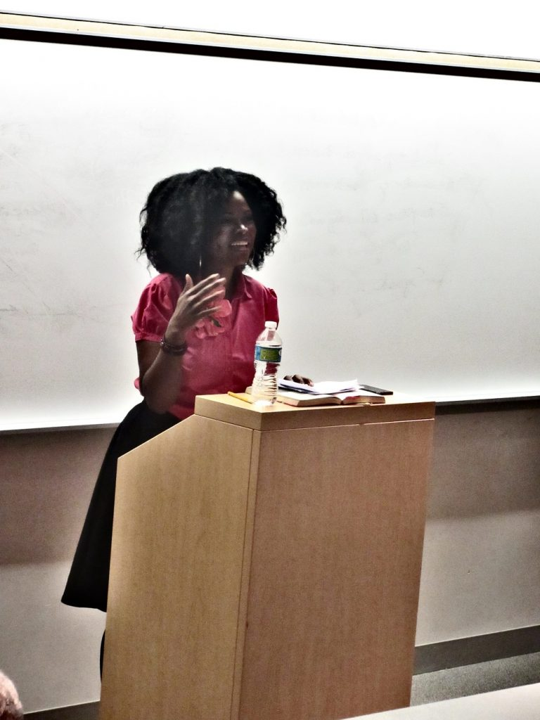 Abiola Abrams - speech at McKendree University