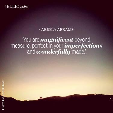 Abiola Abrams: You ROCK!