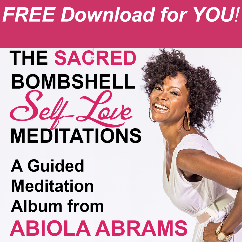 Sacred Bombshell Self Love Meditations