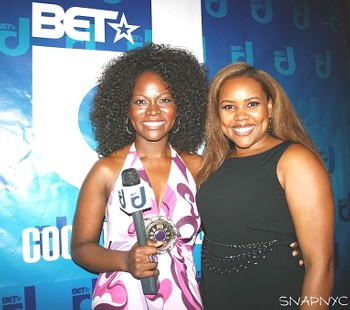 Abiola Abrams and Patranila Jefferson